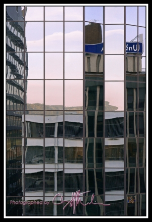 Carpark reflections_sml